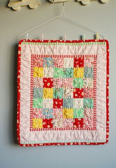 doll quilt, simple and the best