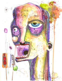 anthead, i was made by the in and out machine on ArtStack #anthead #art