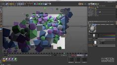 Cinema 4D Tutorial - The Cluster Effect