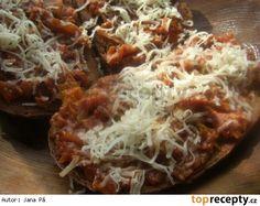 Cuketová topinková směs Baked Potato, Cabbage, Potatoes, Homemade, Baking, Vegetables, Ethnic Recipes, Food, Hokkaido