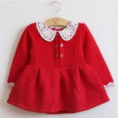 платье с длинным рукавом для девочки(22-24 размер)