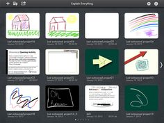 Explain Everything - great app for student projects!