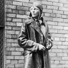 Amelia Earhart - strong women positive role models