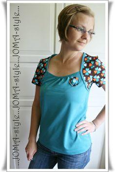 Retro-Shirt #KnipMode 06/2011 *JOMA-style*