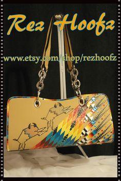 Hand Painted Purse By Rez Hoofz One Of A Kind ready by REZHOOFZ Womens  Purses, 18c651393e