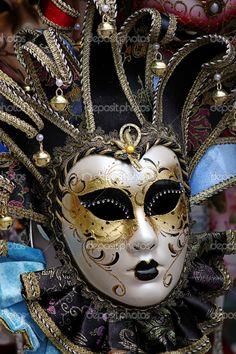 Venice carnival mask - Stock Image: 3616099