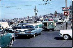 Galata Köprüsü -1966   #İSTANBUL