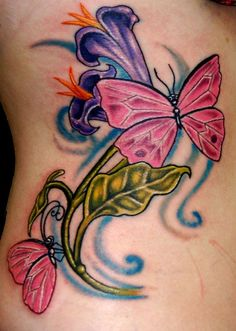 2017 trend Tattoo Trends - 9 Best Butterfly Tattoo Designs with Meanings | Styles At Life Check more at http://tattooviral.com/tattoo-designs/tattoo-trends-9-best-butterfly-tattoo-designs-with-meanings-styles-at-life/