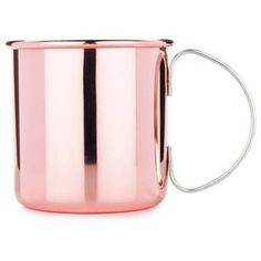 True Brands True Moscow Mug Copper Cocktail Mug By ($22) ❤ liked on Polyvore featuring home, kitchen & dining, drinkware, decor, fillers, coffee & tea cups, moscow mule copper mugs, copper moscow mule, copper mugs and copper drinkware