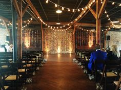 Sabryna + Josh | Houston Station, Nashville, TN | What a creative and fun wedding, complete with handmade origami cranes! | @southernevents | Southern Sky Event Lighting