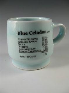 Image result for blue celadon stoneware glaze recipe