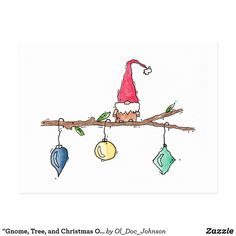 Get your hands on a customizable Christmas postcard from Zazzle. Find a large selection of sizes and shapes for your postcard needs! Christmas Doodles, Diy Christmas Cards, Xmas Cards, Christmas Postcards, Holiday Cards, Christmas Crafts, Christmas Decorations, Christmas Ornaments, Watercolor Christmas Cards