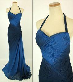 Beyond $450 Navy Black Prom Cruise Evening Formal Dress NWT Size 4 | eBay
