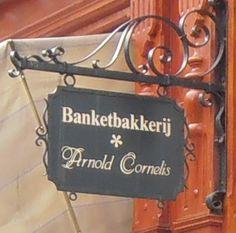 Amsterdam - Banketbakkerij Arnold Cormelis -hoek Elandsgracht - Hazenstraat