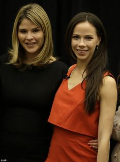 Then and now: On Wednesday,29 October 2014,  the 32-year-old twin sisters, Jenna Bush Hager and Barbara Bush, appeared together as feature speakers at the Girls Inc. fundraiser luncheon in Omaha, Nebraska.