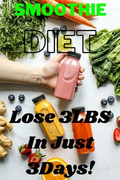 If you're looking for a complete life transformation over the next 3 weeks then you're in the right place! Whether you need to lose the last 5-10 lbs or you want to get rid of 40lbs or more, this will work for you Diet Smoothie Recipes, Smoothie Diet, 3 Weeks, Work On Yourself
