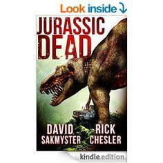 Book 1 in the zombie-dinosaur series Jurassic Dead