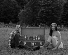 Simply country engagement photos
