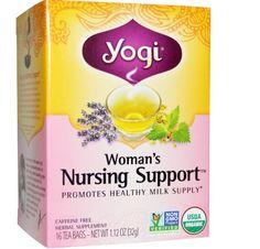 Organic Woman's Nursing Support Health Caffeine Free 16 Tea Bags 1.12 oz  #yogitea
