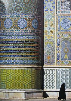 Herat, Afghanistan -- amazing detail  -  every sequence of tiles, you can count them up and the number always is divisible by 7    Why did it become necessary to bomb the heck out of a country that takes such pride in every detail of their architecture?