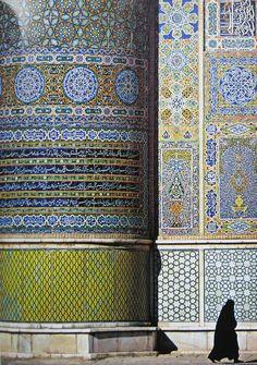 architecture religieuse orientale : Herat, Afghanistan, céramique
