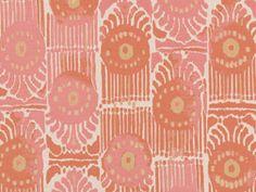 Bazaar - Melon- perennials print, so cute