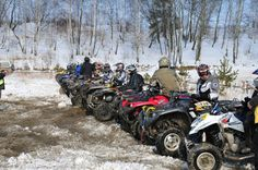 Quad riding is a sport for real men