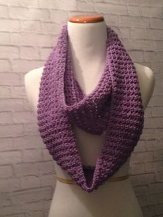Crochet infinityl Scarf Cowl Scarf by MaryDSerenityDesigns on Etsy