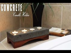 Concrete Candle Holder: 10 Steps (with Pictures)