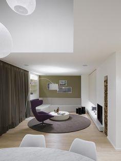 Quant 1 apartment by Ippolito Fleitz Group - Interior design - Residential
