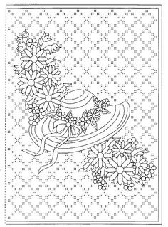 THIS WOULD OPPS make a lovely happy holidays card. This would make a cute and pretty embroidery piece. I wouldn't do all the crosses though.
