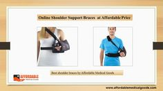 Best Online Shoulder Support Braces for patients suffering from shoulder injuries or pain. Shoulder support straps provide full comfort and support for fast recovery.