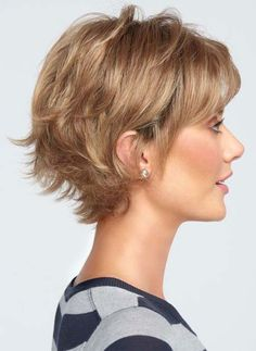 Boost wig by Raquel Welch - peinados cabello fino Short Hairstyles For Thick Hair, Haircuts For Curly Hair, Very Short Hair, Short Hair With Layers, Short Hair Cuts For Women, Easy Hairstyles, Curly Hair Styles, Hairstyle Ideas, Wedding Hairstyles