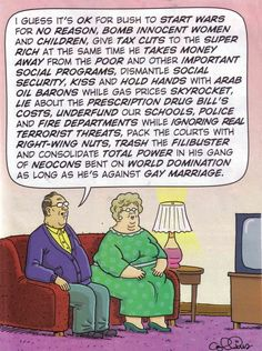 it's ok for you to destory the country as long as you are against gay marriage!