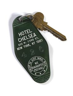 A KIM BASINGER HOTEL CHELSEA KEY FROM 9 1/2 WEEKS Sold for US$ 1,625 (£1,073) inc. premium