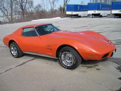 Corvette Stingray - Handled badly, needed a petrol station towed behind, but looked and sounded great!