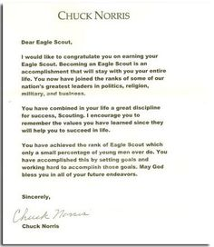 Eagle Scout Letters Of Recognition Eagle Scout Court Of Honor - Eagle scout recommendation letter template