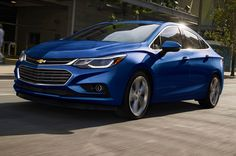 Is the 2016 Chevrolet Cruze the Camaro of compacts? Get the full 2016 Cruze review right here, with insight you'll only find at Motor Trend. #Chevy #Cruze Chevrolet Cruze, Camaro Models, Chevy Models, 2016 Cruze, First Drive, Car Brands, Sport Cars, Compact, Cars