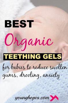 Best Natural Organic Baby Teething Gel #organic #baby #teething