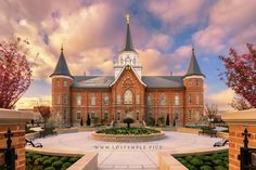 Provo City Center Utah Temple Sunrise South by Tausha Coates | LDS Temple Prints