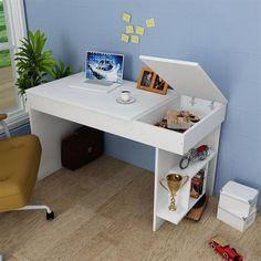 Teenage Girl Bedrooms, Girls Bedroom, Inner World, Interior And Exterior, Office Desk, Corner Desk, Diy And Crafts, Living Spaces, Room Decor