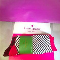 ♠️Kate Spade New York Socks 2 Pairs ♠️Kate Spade New York trouser socks 2 pairs, Front: 73% Cotton 26% Polyester 1% Spandex, Back: 62% Cotton 36% Polyester 2% Spandex, Brand New with tags Smoke Free ❌NO TRADES ❌ BUNDLE & SAVE‼️ kate spade Other