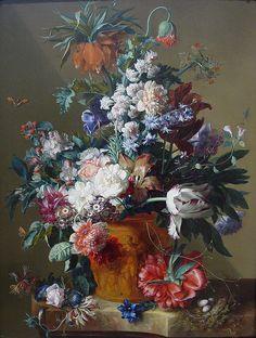 Vase of Flowers 1722, Jan van Huysum | Flickr - Photo Sharing!