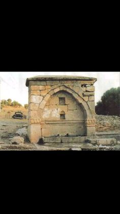 Fountain-Historic fountain-Constructive: Unknown-Year built: Unknown-Bozkır-Konya