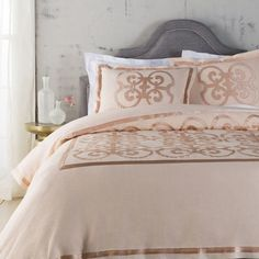 Beverly Duvet Cover Set in Pink  at Joss and Main