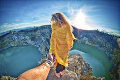 Don't Look Down   Mt Kelimutu   Wander Vibes