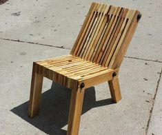 chaise de jardin en palette