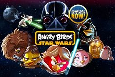 Strap on your lightsaber: Angry Birds Star Wars launches for 99 cents The game arms the angry birds with a lightsaber as they take on Darth Vader, Dark Lord of the Pigs. Angry Birds Star Wars, Cumpleaños Angry Birds, Star Wars Xbox One, Image Birthday Cake, Business Model Canvas, Ipad, Bird Party, Star War 3, Dark Lord