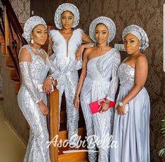 Nigerian Traditional Wedding Dress Styles New asoebi Styles My African Kings & Queens Nigerian Wedding Dress, Nigerian Dress, African Wedding Attire, African Attire, Nigerian Weddings, African Weddings, African Bridesmaid Dresses, African Lace Dresses, African Fashion Dresses