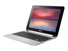 ASUS C100PA-DB02 10.1-inch Touch Chromebook Flip (1.8GHz, 4GB Memory, 16GB eMMC, Google Operating System), Silver (Certified Refurbished)   see more at  http://laptopscart.com/product/asus-c100pa-db02-10-1-inch-touch-chromebook-flip-1-8ghz-4gb-memory-16gb-emmc-google-operating-system-silver-certified-refurbished/